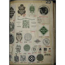 "Republic Banknote Company Vignette ""Miscellaneous"