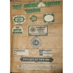 Security Banknote Company Proof Vignette Sample B