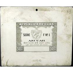 Cuba Republica de Cuba. Azucar.