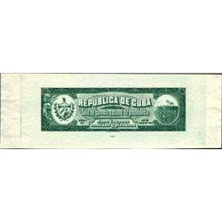 Cuba Tobacco Guarantee Stamp.