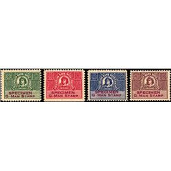 IL. U.S. Columbian BNC Sample Advertising Stamps
