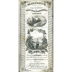 Ohio. U.S.  Quack Medicine Label by RWH&E