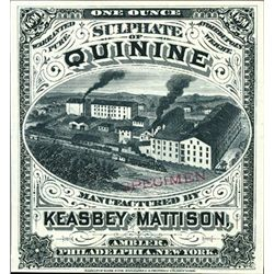U.S. Keasby and Mattison Quinine Medical Label