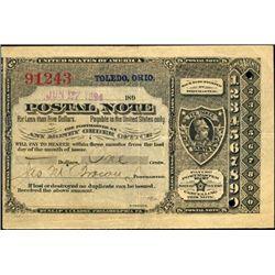 Ohio. U.S. Postal Note.