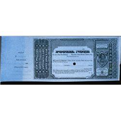 U.S. Postal Note.