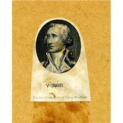 U.S. Unlisted George Washington Vignette Essay.