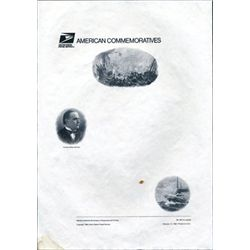 "USPS ""American Commemoratives"" Panel Proof Sheets"