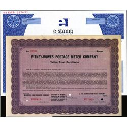 U.S. Pitney-Bowes Postage Meter and e-Stamp Stocks