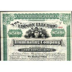 NJ. The Edison Electric Illuminating Bond