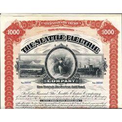 Washington. U.S. The Seattle Electric Co.