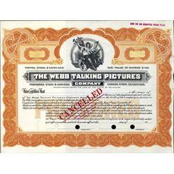 U.S. Webb Talking Pictures Co.