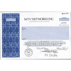 DE. U.S. MTV Networks Incorporated.