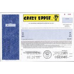 U.S. Crazy Eddie Scam Bond.