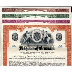 Denmark Kingdom of Denmark Bond Group (4).