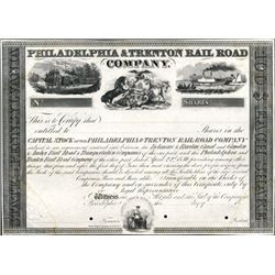 Pennsylvania. Philadelphia & Trenton Rail Road Co.