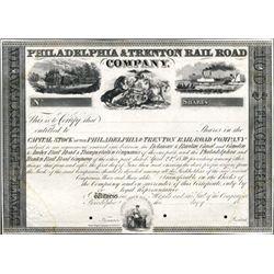 Pennsylvania. Philadelphia & Trenton Rail Road Co.