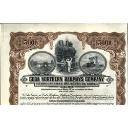 Cuba Cuba Northern Railways Company.