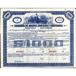 Quito. Ecuador Compania De Abasto, Comision Y Pres