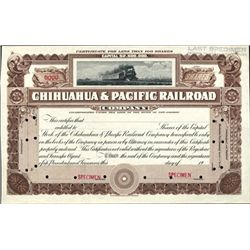 Mexico, Chihuahua & Pacific Railroad Co.