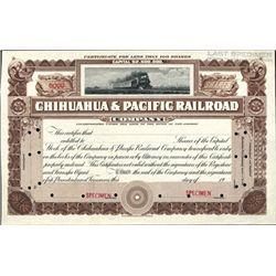 Mexico, Chihuahua & Pacific Railroad Co.