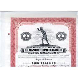El Salvador El Banco Hipotecario De El Salvador.