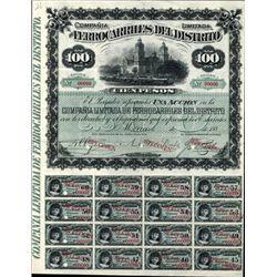 Mexico Railroad Bond -