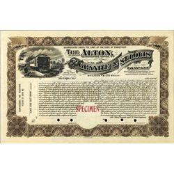 U.S. Alton, Granite & St. Louis Company.
