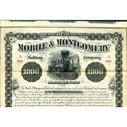 Alabama. U.S. Mobile & Montgomery Railway Co.