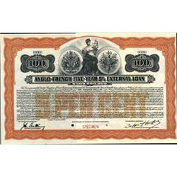 France; England.   Anglo-French External Loan