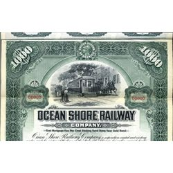 California. U.S. Ocean Shore Railway Co.