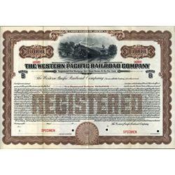 California. U.S. the Western Pacific Railroad Co.