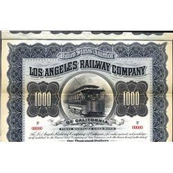 Los Angeles, CA.  Los Angeles Railway Co. of CA