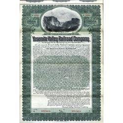 U.S. Yosemite Valley Railroad Co.