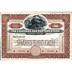 The Colorado and Northwestern Railroad Co.