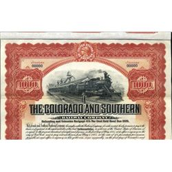 The Colorado and Southern Railway Co.