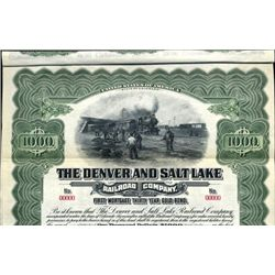 CO.  The Denver and Salt Lake Railroad Co.