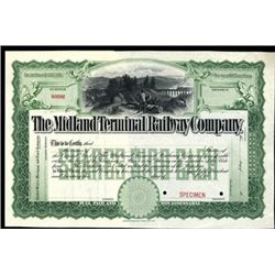 Colorado. U.S. The Midland Terminal Railway Co.