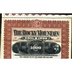 U.S. The Rocky Mountain Coal & Iron Co.