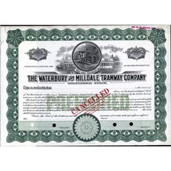 Waterbury and Milldale Tramway Co.