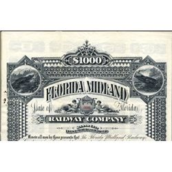 Florida. U.S. Florida Midland Railway Co.