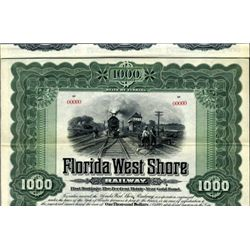 Florida. U.S. Flordia West Shore Railway.