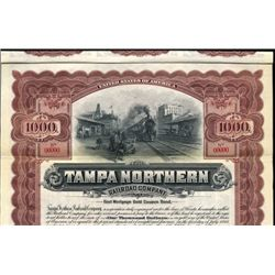 Flordia. U.S. Tampa Northern Railroad Co.