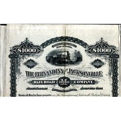 FL.,  The Fernandian and Jacksonville Railroad Co.