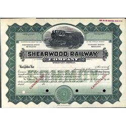 Brooklet, Georgia. U.S. Shearwood Railway Company.