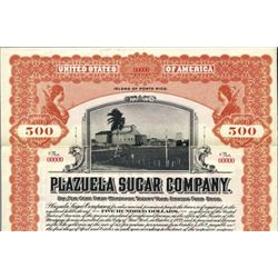 Puerto Rico Plazuela Sugar Co. Bond.