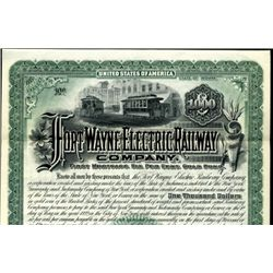 Indiana. U.S. Fort Wayne Electric Railway Co.