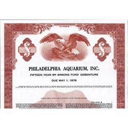 Pennsylvania. U.S. Philadelphia Aquarium.