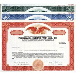 PA. U.S. Pennsylvania Horse Racing Related Certs