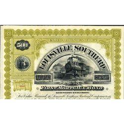 Kentucky. U.S. Louisville Southern Railroad Co.
