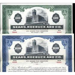 New York. U.S. Sears, Roebuck and Co. (2).